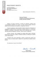 List Prezydenta Miasta na zakończenie roku szkolnego